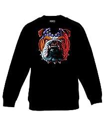 Unisex Sweatshirt Printed Tuff Dog