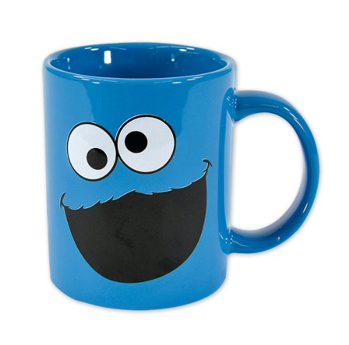 Sesame Street - Ceramic Coffee Mug (Cookie Monster / Face)