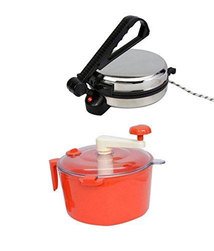 Combo Of Bansons Silver Roti Maker And Dough Maker