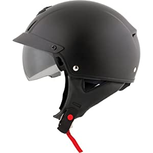 Scorpion Solid EXO-C110 Cruiser Motorcycle Helmet - Matte Black / X-Large from Scorpion