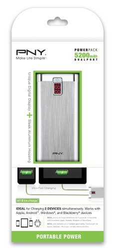 PNY-BD5200-5200mAh-Portable-Power-Bank
