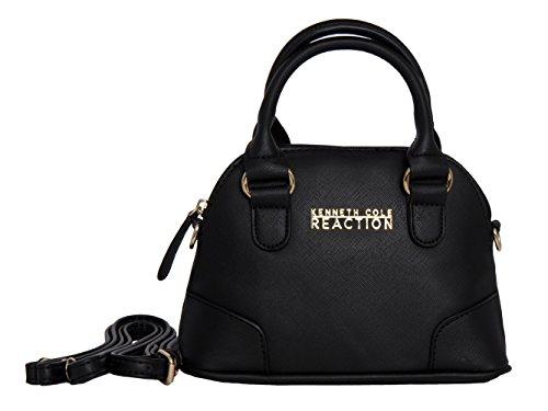 kenneth-cole-reaction-kn1476-dome-mini-crossbody-messenger-purse-shoulder-bag-black