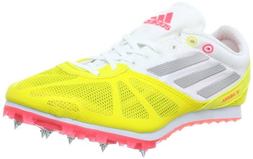 Adidas Performance Unisex - Adult Arriba 4 w Running Shoes Yellow Gelb (Vivid Yellow S13 / Metallic Silver / Red Zest S13) Size: 42 2/3