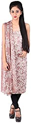 Bee Gee Boutique Women's Synthetic Unstitched Dress Materials (BG-20, Light Purple)