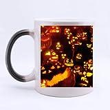 Mug for U halloween pumpkin Custom Morphing Mug coffee cup