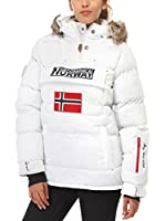 ZZ_Geographical Norway Abrigo Bolide (Blanco)