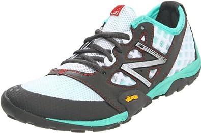 New Balance Women's WT20 Minimus Trail Running Shoe,Grey/Teal,7 B US