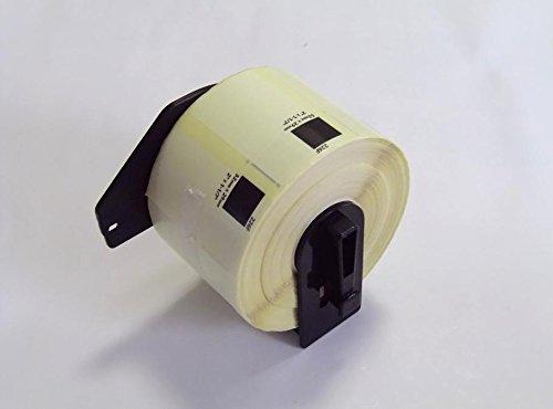 【PC工房】ブラザープリンターラベル感熱ロール紙DK-1226互換ラベル5個入り+専用フレーム1個【ロール交換可能】タイプのセット