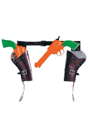 Toy Cowboy Guns And Holster Set front-988630