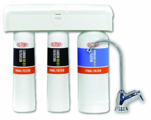 DuPont WFQT390005 QuickTwist 3-Stage Drinking Water Filtration System (Dupont Water Filters Quicktwist compare prices)