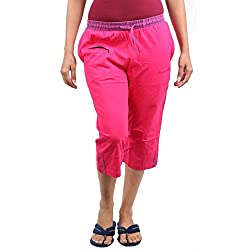 CKL Womens Cotton Capri(CKLL2651P_L)
