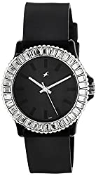 Fastrack Beach Analog Black Dial Womens Watch - 9827PP02