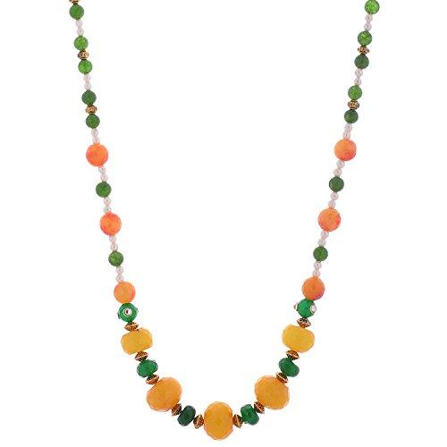 Iris Iris Collection Semi-Precious Stones Strand Women Multi-Colour (Multicolor)