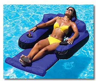 Ultimate Floating Lounger for Swimming Pool & Beach