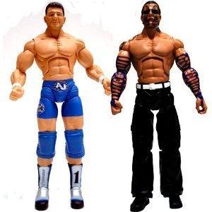 TNA Wrestling Cross the Line Series 3 Action Figure 2Pack AJ Styles Jeff Hardy by Jakks