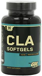 Optimum Nutrition CLA Fat Loss and Lean Muscle Gain Softgels - Tub of 90
