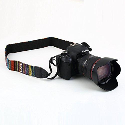 Dpower Camera Shoulder Neck Strap For Slr Dslr Nikon Canon Sony Panasonic