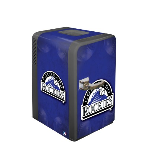 Mlb Colorado Rockies Portable Party Refrigerator front-75702