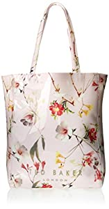 Ted Baker Botanical Bloom Print Icon Shoulder Bag,Pale Pink,One Size