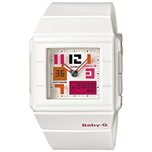 Casio Baby-G Damen-Armbanduhr Analog / Digital Quarz BGA-200PD-7BER