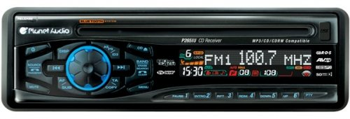 Planet Audio P560V Dvd/Am/Fm/Cd/Mp3 Receiver With Full Detachable Face Plate