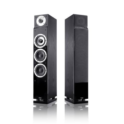 Teufel T 400 Stereo Set Stand-Lautsprecher Schwarz (Paar)