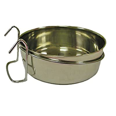 Indipets Stainless Steel Coop Cup with Hooks