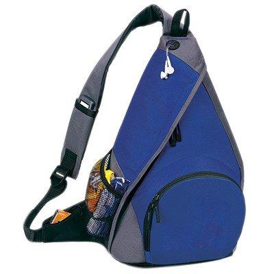 Yens® Fantasybag Mono-Strap Backpack-Royal Blue/Grey, 6Bp-05