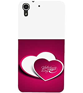HTC DESIRE 728 VALENTINES DAY Designer Back Cover Case By PRINTSWAG
