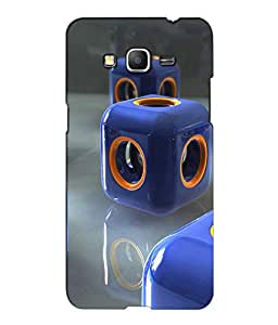 Crazymonk Premium Digital Printed 3D Back Cover For Samsung Galaxy J7