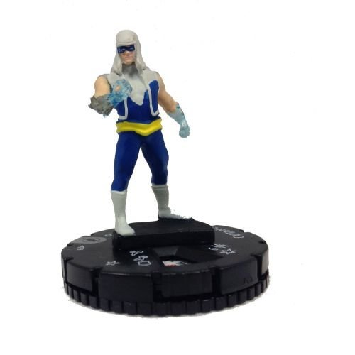 Heroclix DC The Flash #038 Captain Cold Figure Complete with Card - 1