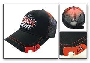 Baseball Cap - Coors Light - Black & Red w/ Bottle Opener Hat