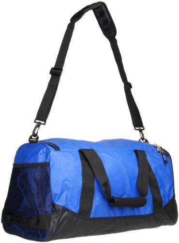 New Nike Team Training Max Air Medium Duffel Bag Game Royal/Black/White