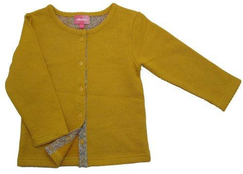 albetta アルベッタ/Yellow jersey cardigan イエローカーディガン/1-2y(90cm)/コットン100%/CCC56827/134
