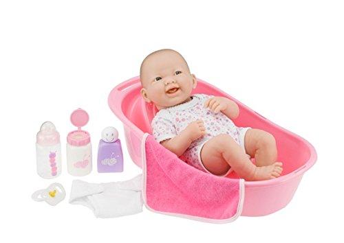 la newborn 8 piece deluxe bathtub gift set featuring 14. Black Bedroom Furniture Sets. Home Design Ideas