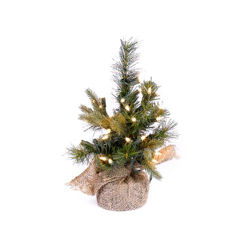 Prelit artificial tabletop christmas tree perfect for