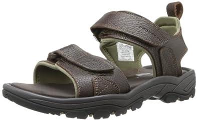 Rockport Men's Rocklake Backstrap Sandal,Brown/Brown,9.5 M US