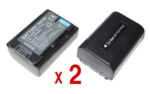 『2個セット』 SONY ソニー NP-FV50 互換 バッテリー の お得な2個セット HDR-TD20V HDR-CX560V HDR-CX700V HDR-PJ20 HDR-CX550V 等対応