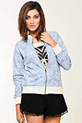 Young Trendz Women's Jacket (BJACKET6S_Blue_Small)