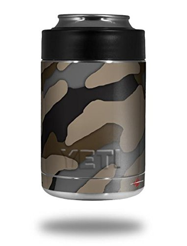 Camouflage Brown - Decal Style Skin Wrap fits Yeti Rambler Colster and RTIC Can (COOLER NOT INCLUDED) (Camo Wrap For Yeti Cooler compare prices)