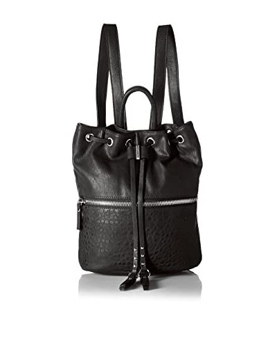 French Connection Women's Mara Backpack, Black