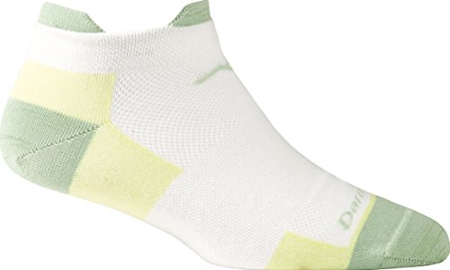 Darn Tough Ultra Light No Show Tab Sock - Women'S Citrus Small front-316776