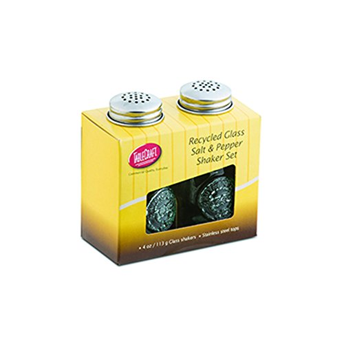 Tablecraft H6618CM Salt & Pepper Shaker Set, 4 oz, Green (Salt And Pepper Shakers Green compare prices)