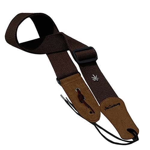 simtyso-guitar-strap-with-leather-ends-and-pick-pocket-includes-ties-for-acoustic-guitars-coffee-col