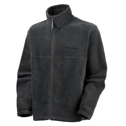 Columbia Men's Steens Mountain Full Zip Fleece Jacket, Black, LT