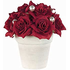 valentines romantic roses decoration
