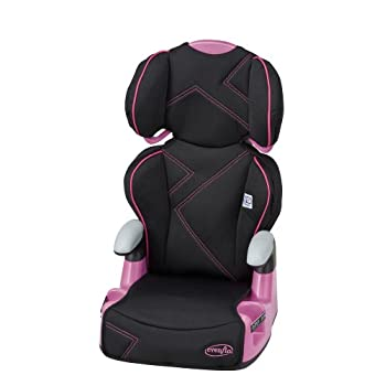 The AMP High Back Booster, with comfort touch padding around the head and body, is so comfortable your child will love it. The dual cup holders will keep drinks and snacks close. The one-hand full body adjustment allows the seat to be positioned at 6...