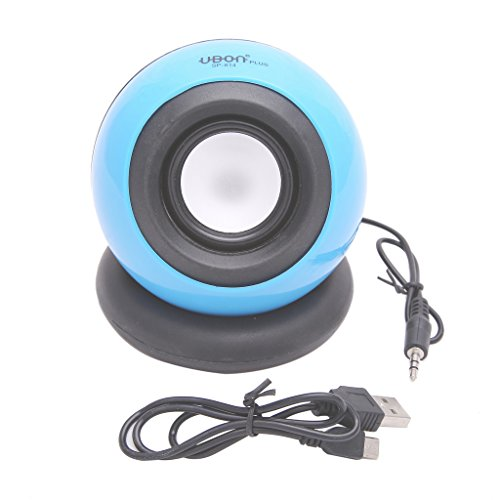 UBON MULTIMEDIA WIRED SPEAKER FOR PC/LAPTOP/MOBILE (SP-814) (BLUE)  available at amazon for Rs.284