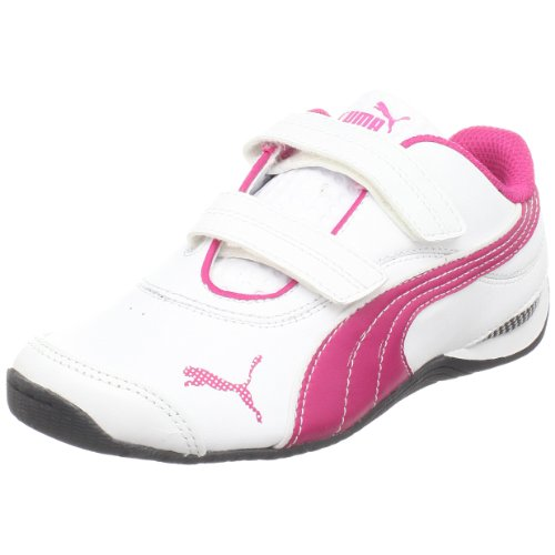 PUMA Kids' Drift Cat III Sneaker,White/Beetroot Purple/Black,9 M US Toddler