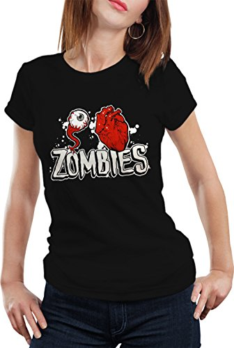 BeWild Brand® - Eye Heart Zombies Girls T-shirt